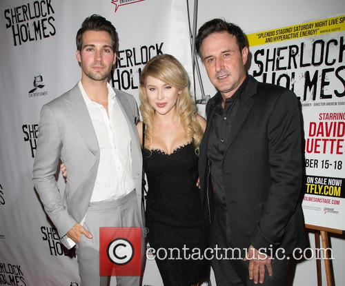 James Maslow, Renee Olstead and David Arquette 3