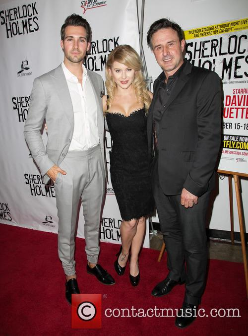 James Maslow, Renee Olstead and David Arquette 4