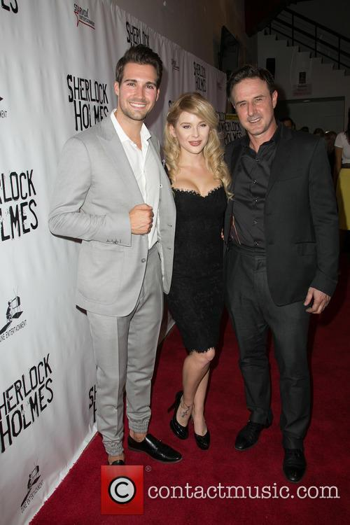 James Maslow, Renee Olstead and David Arquette 5