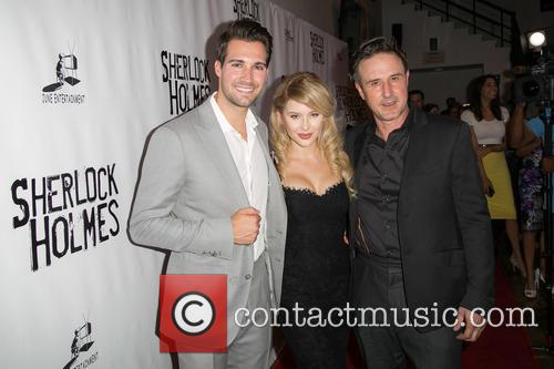 James Maslow, Renee Olstead and David Arquette 6