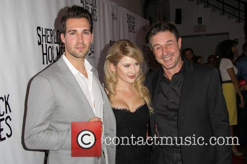 James Maslow, Renee Olstead and David Arquette 1
