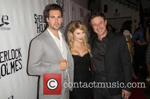 James Maslow, Renee Olstead and David Arquette 7