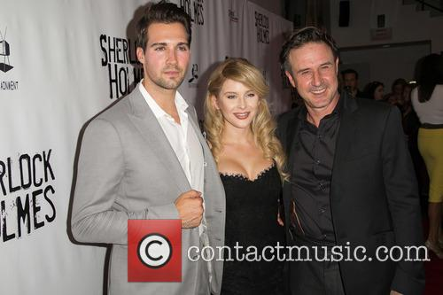 James Maslow, Renee Olstead and David Arquette 8