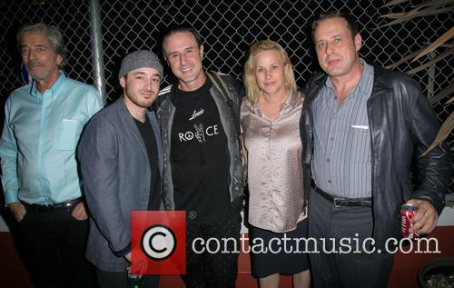 Todd Morgan, Guest, David Arquette, Patricia Arquette and Richmond Arquette