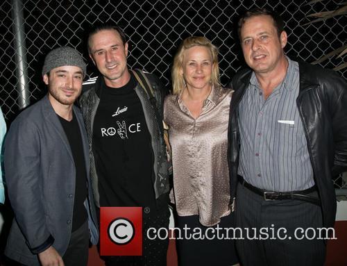 Guest, David Arquette, Patricia Arquette and Richmond Arquette 1