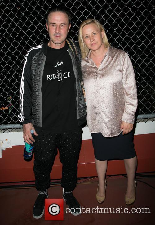 David Arquette and Patricia Arquette 2