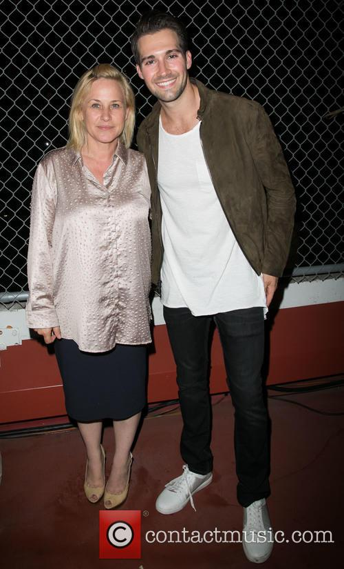 Patricia Arquette and James Maslow 2