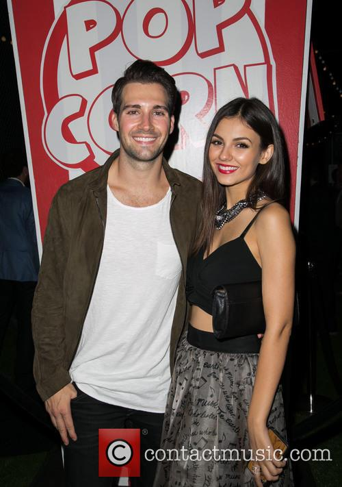 James Maslow and Victoria Justice 1