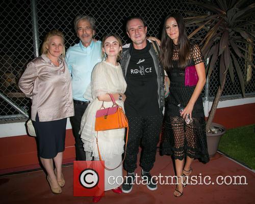 Patricia Arquette, Todd Morgan, Zoe-bleu Sidel, David Arquette and Christina Arquette 2