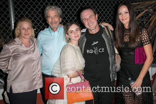 Patricia Arquette, Todd Morgan, Zoe-bleu Sidel, David Arquette and Christina Arquette 4