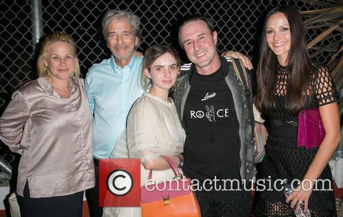 Patricia Arquette, Todd Morgan, Zoe-bleu Sidel, David Arquette and Christina Arquette 1