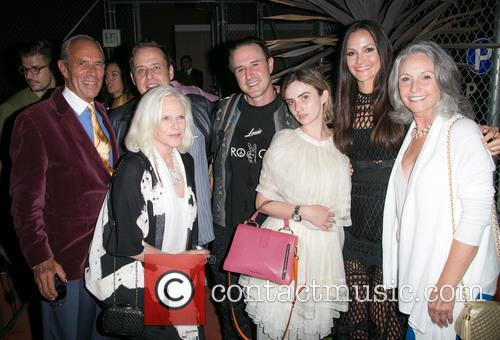 Guests, Richmond Arquette, David Arquette, Zoe-bleu Sidel, Christina Arquette and Guest 1