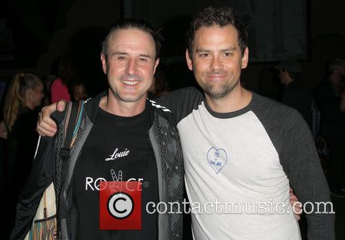 David Arquette and Andrew Shaver 1