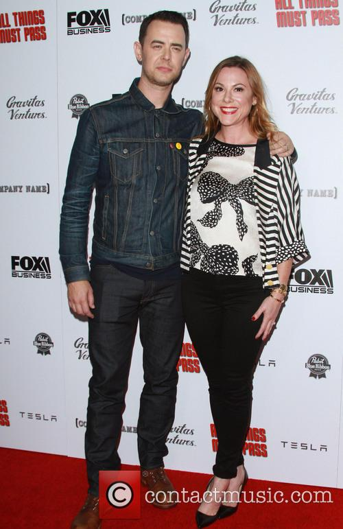Colin Hanks and Wife Samantha Bryant 3