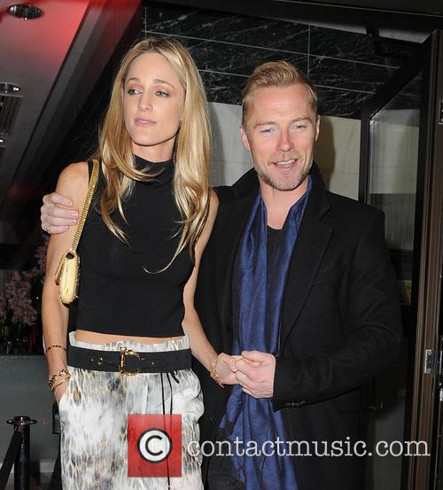 Ronan Keating, Storm Uechtritz and Storm Keating 3