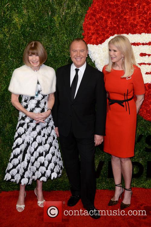 Anna Wintour, Michael Kors and Blaine Trump