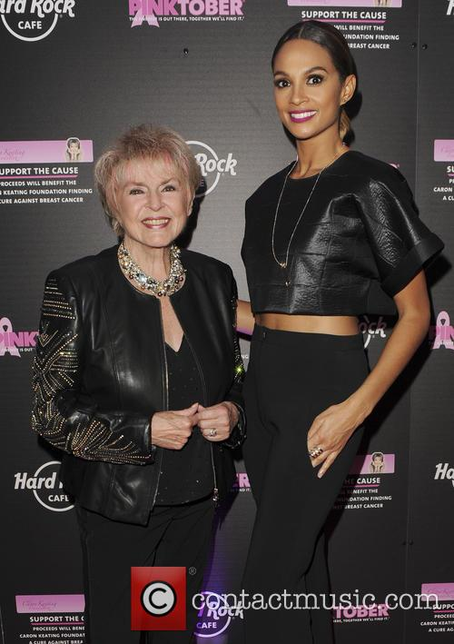 Gloria Hunniford and Alesha Dixon 2