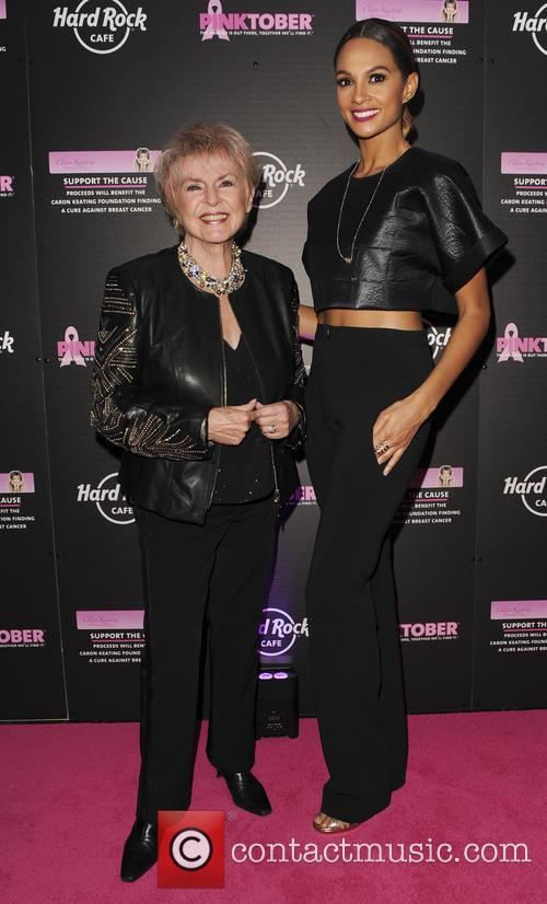 Gloria Hunniford and Alesha Dixon 5