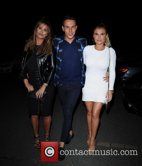 Ferne Mccann, Bobby Norris and Billie Faiers 2