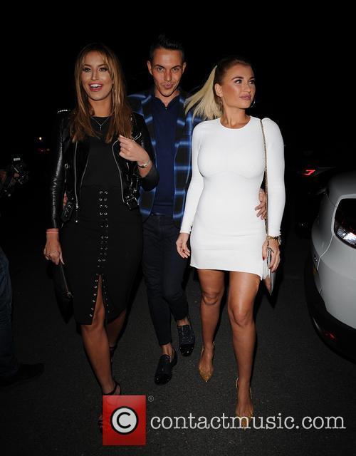 Ferne Mccann, Bobby Norris and Billie Faiers 1