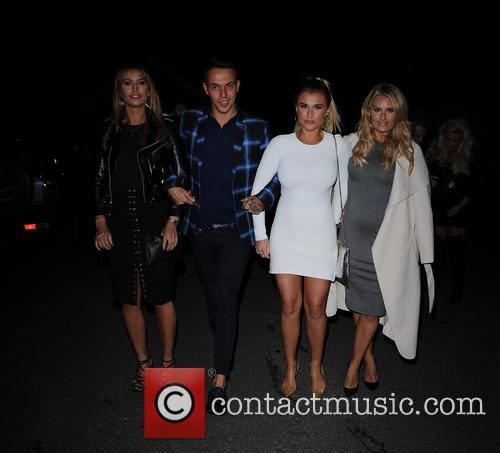 Ferne Mccann, Bobby Norris, Billie Faiers and Danielle Armstrong 2