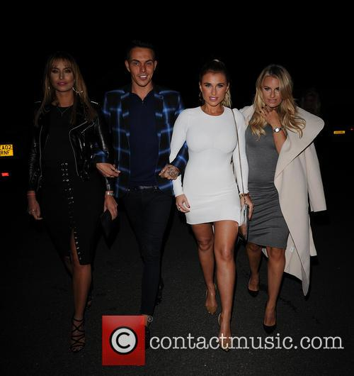 Ferne Mccann, Bobby Norris, Billie Faiers and Danielle Armstrong 3