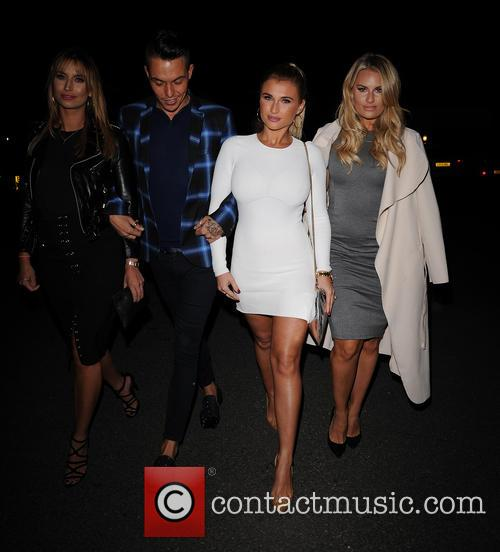 Ferne Mccann, Bobby Norris, Billie Faiers and Danielle Armstrong 4