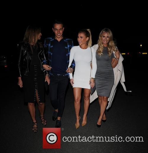 Ferne Mccann, Bobby Norris, Billie Faiers and Danielle Armstrong 1