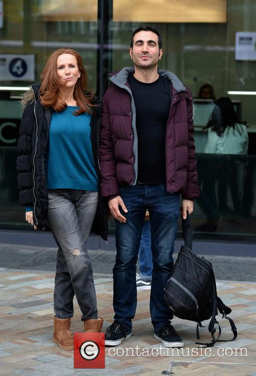 Catherine Tate and Brett Goldstein 2