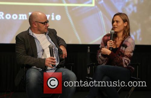 Lenny Abrahamson and Brie Larson 3