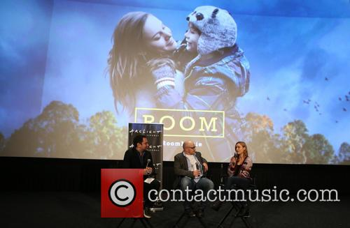 Lenny Abrahamson and Brie Larson 5