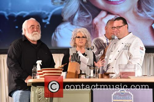 Michael Groover, Paula Deen and Chef Frank Benowitz 1