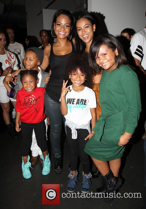 Christina Milian and Karrueche Tran 1