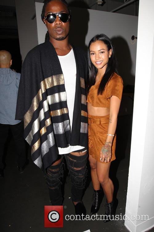 Karrueche Tran and Ej 1