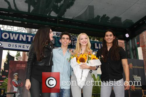 Sofia Carson, Cameron Boyce, Dove Cameron and Booboo Stewart