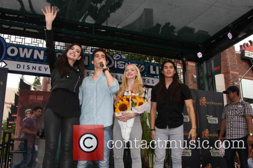 Sofia Carson, Cameron Boyce, Dove Cameron and Booboo Stewart 1