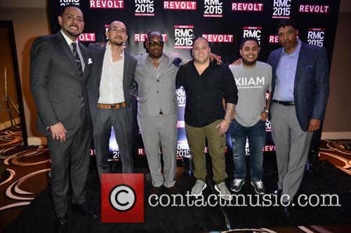 James Cruz, Johnny Marines, Ted Chung, Jay Brown, Kevin Liles and Anthony Saleh 1