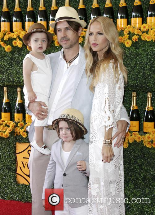 Rachel Zoe, Rodger Berman, Son Skyler and Son Kai 1