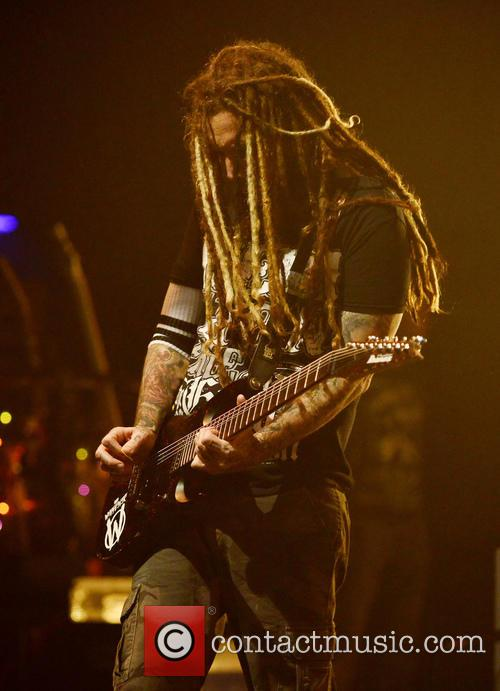 Korn, Brian Head Welch and Jackie Gleason 1