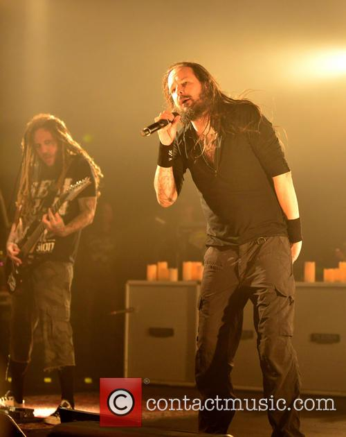 Korn perform onstage at The Fillmore Miami Beach...