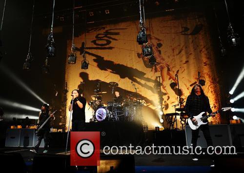 Korn, Brian Head Welch, Reginald Fieldy Arvizu, James Munky Shaffer and Jackie Gleason 4