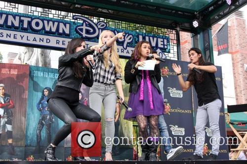 Sofia Carson, Dove Cameron and Booboo Stewart 1