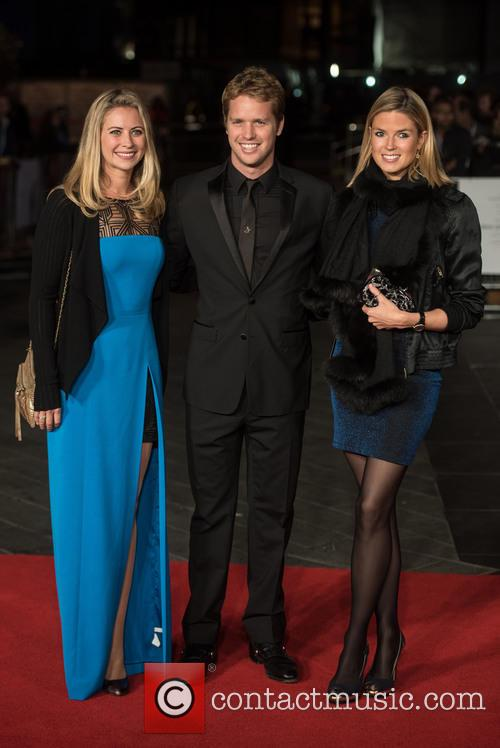 Holly Branson, Sam Branson and Isabella Calthorpe 1