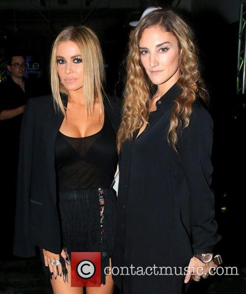 Carmen Electra and Angela Brasington 2