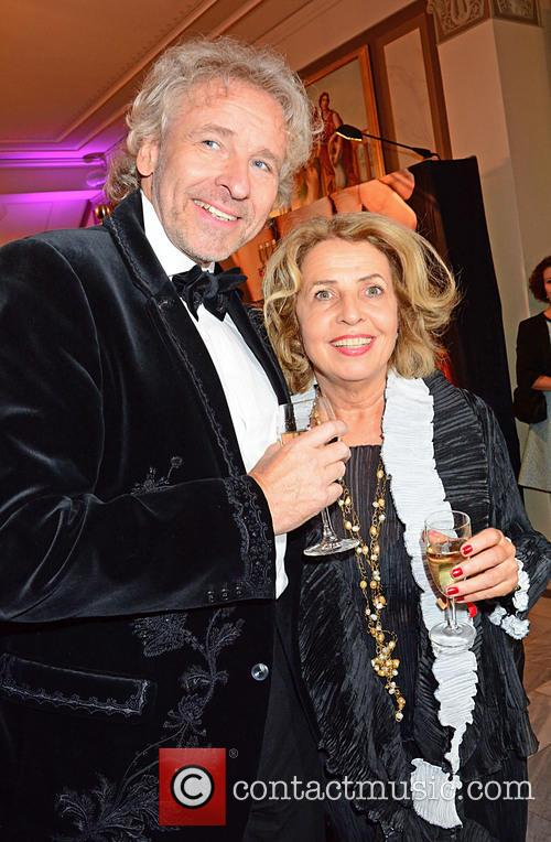 Thomas Gottschalk and Michaela May 1