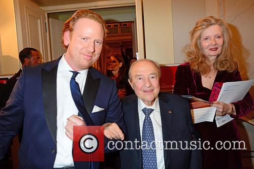 Daniel Hope, Menahem Pressler and Lady Weidenfeld 1