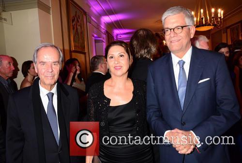Dieter Stolte, Huelya Oezkan and Thomas Bellut 1