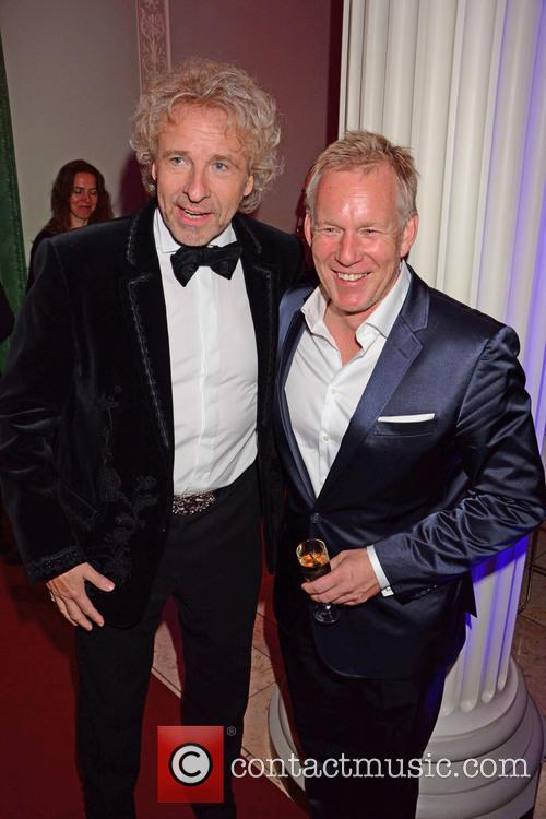 Thomas Gottschalk and Johannes B. Kerner