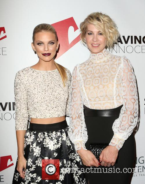 Annalynne Mccord and Jenna Elfman 1