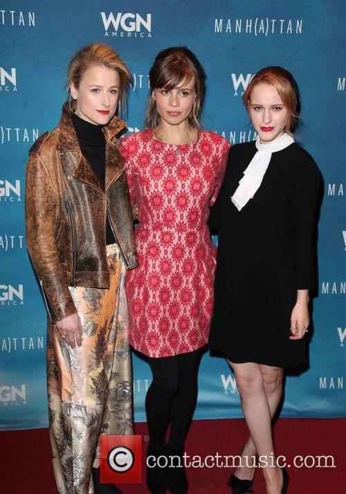 Mamie Gummer, Katja Herbers and Rachel Brosnahan 1